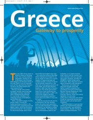 Greece Gateway to prosperity - Forbes Special Sections