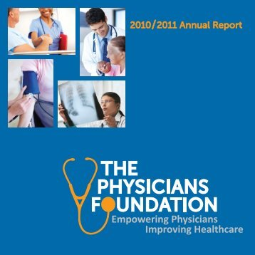 annual report - The Physicians Foundation