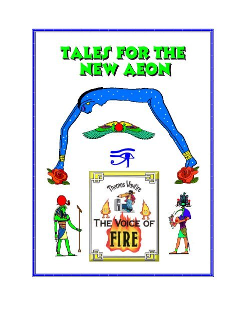 Tales For The New Aeon Thomas Voxfire