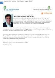 Newsletter Stifter-helfen.de – IT for Nonprofits – Ausgabe 04-2013
