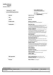 Lärarutbildningsstyrelsen protokoll 2012-12-11.pdf - Södertörns ...
