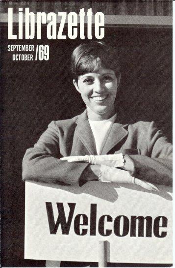 September, 1969 Librazette - Librascope Memories