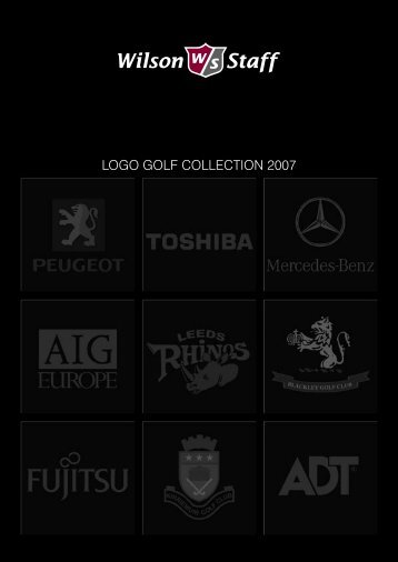 LOGO GOLF COLLECTION 2007 - Wilson