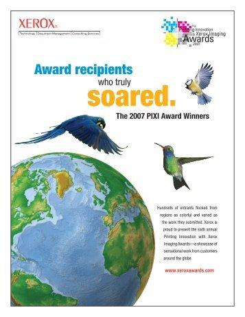 View 2007 Xerox PIXI Award Winners Here - Keiger Graphic ...