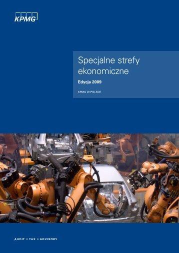 Specjalne Strefy Ekonomiczne - edycja 2009 - Informator dla ...