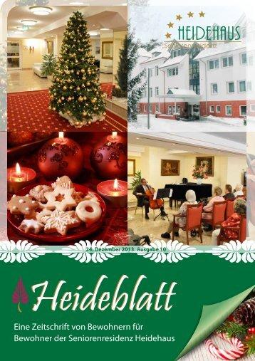 Heideblatt Nr. 10 - Seniorenresidenz Heidehaus