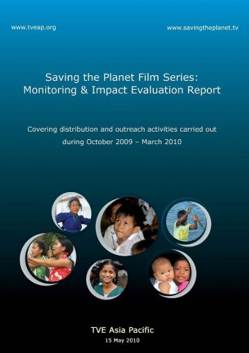 Monitoring and Impact Evaluation Report - Saving the Planet