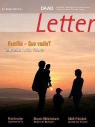 Letter - DAAD-magazin