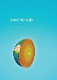 Seismology - Comprehensive Nuclear-Test-Ban Treaty Organization