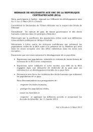 message de solidarite aux osc de la republique ... - caritasdev.cd
