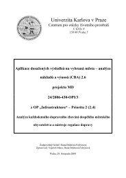 pdf (291 kb) - Centrum pro otázky životního prostředí UK - Univerzita ...