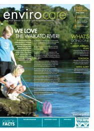 Envirocare - April 2008 - Waikato Regional Council