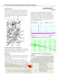 FireFox Broadband Synthesizer – OEM Model - Jackson Labs ... - Page 3