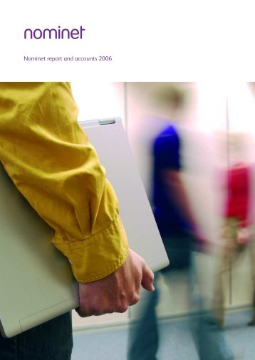 2006 Annual Report and Accounts - Nominet