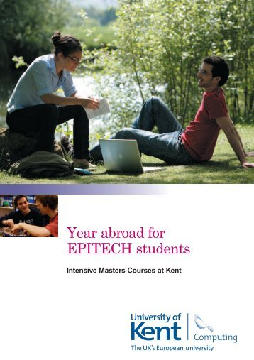 Year abroad for EPITECH students - University of Kent