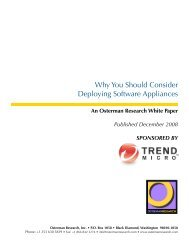 Why You Should Consider Deploying Software ... - Trend Micro