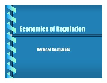 Lecture Notes #6 Vertical Restraints