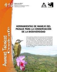 herramientas de manejo del paisaje para la conservación de la ...