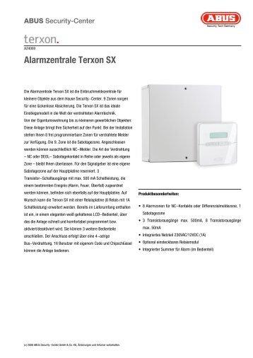 Alarmzentrale Terxon SX - ALARME DIRECT