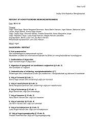 28. november - Vejlby-Strib-Røjleskov pastorat