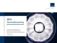 2013 Generalforsamling - Solar.eu