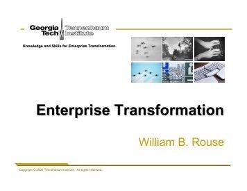 Enterprise Transformation - PIMA