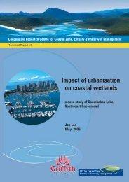 The impact of urbanisation on coastal wetlands: a case ... - OzCoasts