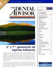 6ta. y 7ma. generación de Agentes Adhesivos - Dental Advisor