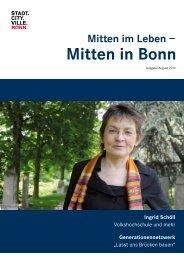 Ingrid Schöll - Integration in Bonn