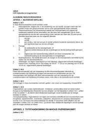 artikel 2 totstandkoming en inhoud overeenkomst. - VVV Eindhoven