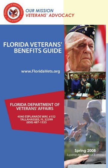 OUR MISSION VETERANS' ADVOCACY - Hernando County