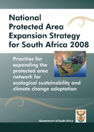 National Protected Area Expansion Strategy for South Africa (2008)