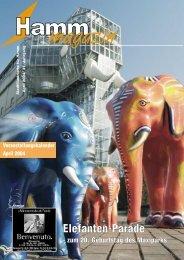 Elefanten-Parade - Verkehrsverein Hamm
