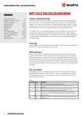 Befæstelsessystemet til solceller - Würth Danmark A/S - Page 2