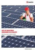 Befæstelsessystemet til solceller - Würth Danmark A/S - Page 3