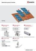 Befæstelsessystemet til solceller - Würth Danmark A/S - Page 5