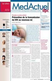 Prévention de la transmission du VIH au ... - Profession Santé