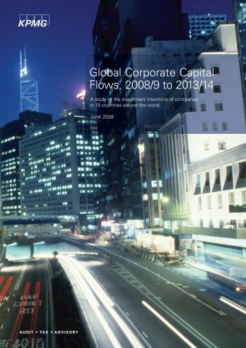 Global Corporate Capital Flows, 2008/9 to 2013/14 - Maths-fi.com