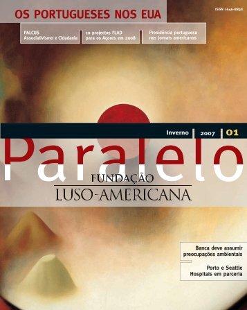 OS PORTUGUESES NOS EUA - Fundação Luso-Americana