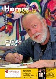 Zeichensetzer unserer Zeit - Verkehrsverein Hamm