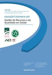 Brochura de Curso - Instituto de Higiene e Medicina Tropical