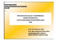 PNIE - Clínica de Gastroenterología. - Hospital de Clínicas