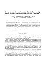 Energy accommodation of gas molecules with free-standing films of ...