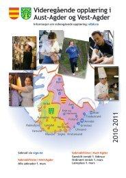 Videregående opplæring i Aust-Agder og Vest-Agder 2010–2011