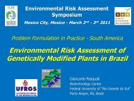 Environmental Risk Assessment of Genetically Modified ... - CERA