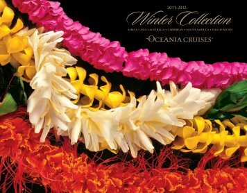2011-12 Winter Collection - Oceania Cruises