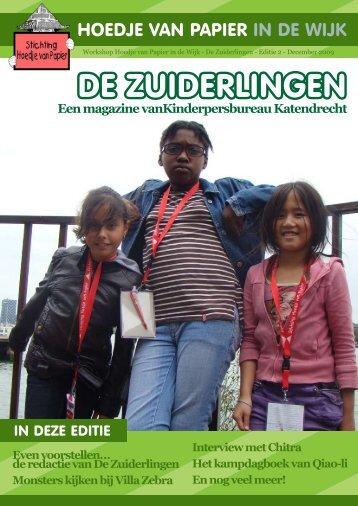 Een magazine vanKinderpersbureau Katendrecht - Wijktijgers