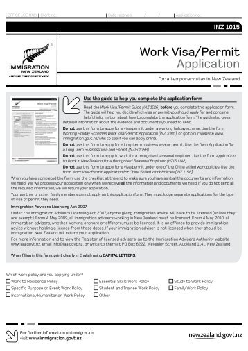 Work Visa/Permit Application - FairSky Travel House