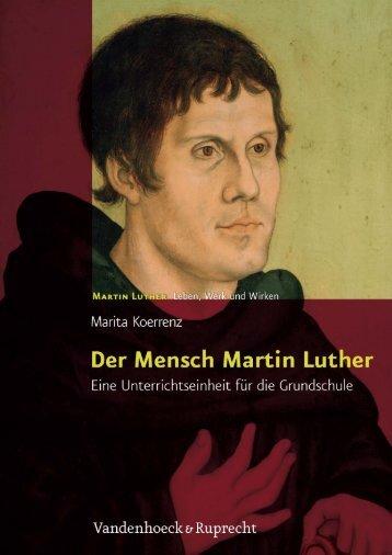 Der Mensch Martin Luther