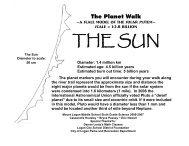 The Planet Walk - Mount Logan Middle School - Logan City School ...